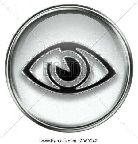 Eye Icon Grey