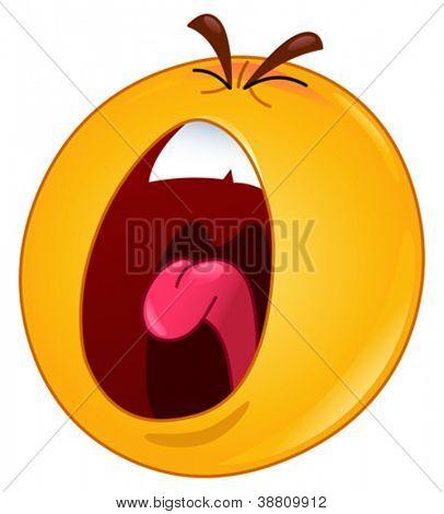 Emoticon de gritos