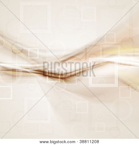Abstract brown technology background. Vector design eps 10