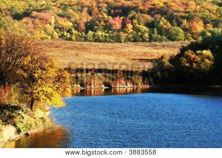 Autumn On Lake
