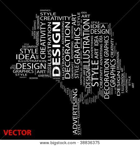 Vector eps concept or conceptual abstract tree shape isolated on white background as metaphor to design,graphic,nature,ecology,child,young,idea,style,creative,fashion,artist,art,decor abstract project