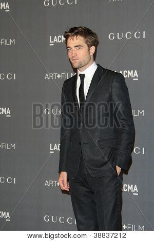 LOS ANGELES, CA - OCT 27: Robert Pattinson at the LACMA 2012 Art + Film Gala at LACMA on October 27, 2012 in Los Angeles, California