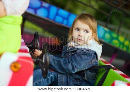 Girl At Park Amusement