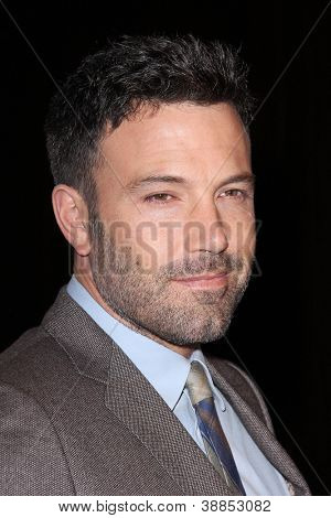 LOS ANGELES - OCT 29:  Ben Affleck arrives at the Casting Society of America Artios Awards at Beverly Hilton Hotel on October 29, 2012 in Beverly Hills, CA