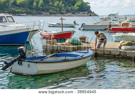 Cavtat, Kroatien - port