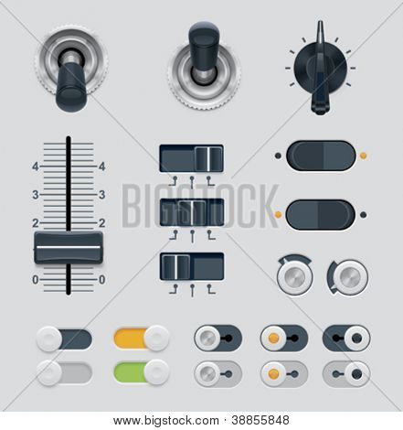 Vector UI marca conjunto