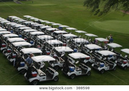 The Golf Carts Are Ready
