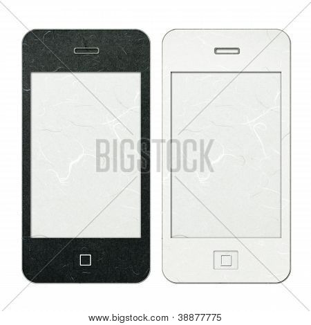 Rice Paper Cut Mobile Phone