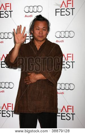 LOS ANGELES - NOV 2:  Kim Ki-Duk arrives at the AFI Film Festival 2012