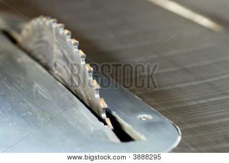 Tablesaw Blade Close Up