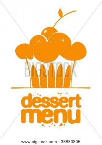Dessert Menu icon.