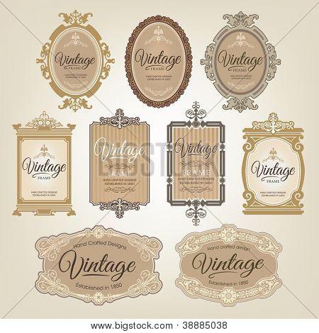 Etiquetas vintage