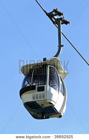 A cable car