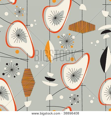 Seamless vintage pattern - JPG Version