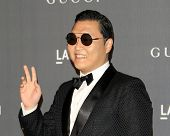 LOS ANGELES - OCT 27:  Psy arrives at the LACMA 2012 Art + Film Gala at Los Angeles County Musem of