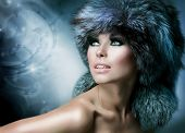 picture of mink  - Fur Fashion - JPG