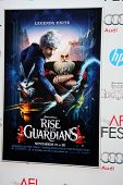 LOS ANGELES - 4 de novembro: Ascensão do cartaz guardiões no AFI Film Festival 2012