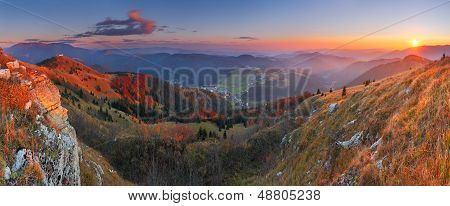 Donovaly (ski Resort) Village Form Peak Zvolen - Slovakia Mountain Fatra