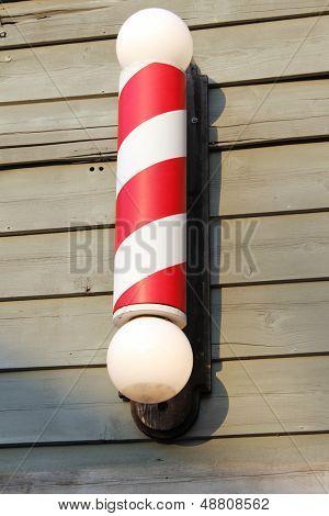 Vintage barber's pole