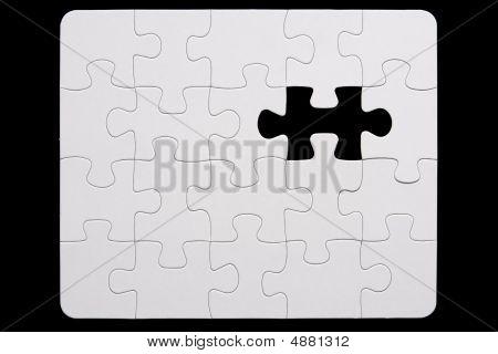 Puzzle incompleto
