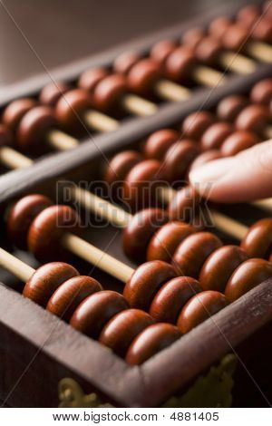 Close-up Of Abacus