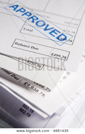 Approved Invoices