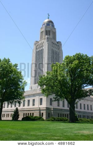 Nebraska State Capitol Tower