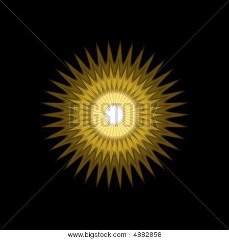 Sun Mandala Pattern