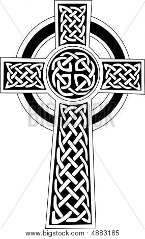 Celtic Cross Symbol - Tattoo Or Artwork