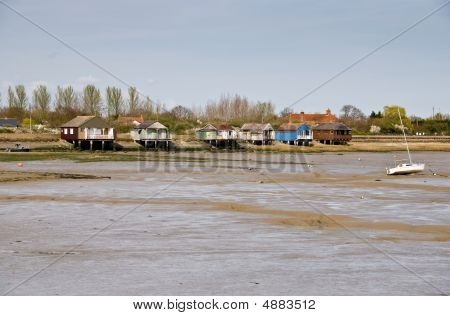 Haybridge At Low Tide