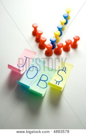 Direction Leading To The Jobs - Employment