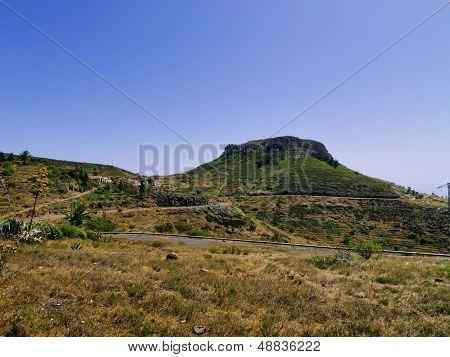 Fortaleza De Chipude On  Gomera
