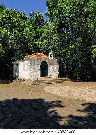 Chapel Of Lourdes On Gomera