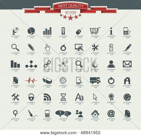Kwaliteit Icon Set (service, Medical, Media, Mail, mobiele, web, Camping Icons, Butterfly)