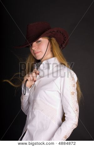 The Girl In A Stetson