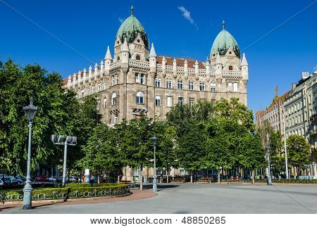 Liberty Square In Budapest