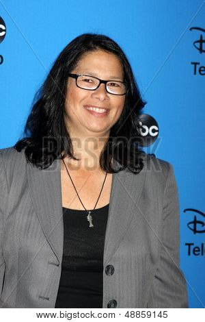 LOS ANGELES - AUG 4:  Dee Johnson arrives at the ABC Summer 2013 TCA Party at the Beverly Hilton Hotel on August 4, 2013 in Beverly Hills, CA