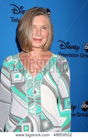 LOS ANGELES - AUG 4:  Susan Sullivan arrives at the ABC Summer 2013 TCA Party at the Beverly Hilton Hotel on August 4, 2013 in Beverly Hills, CA