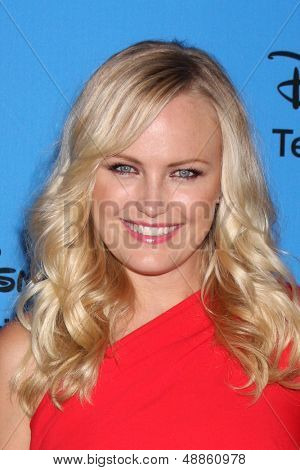 LOS ANGELES - AUG 4:  Malin Akerman arrives at the ABC Summer 2013 TCA Party at the Beverly Hilton Hotel on August 4, 2013 in Beverly Hills, CA
