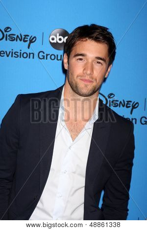 LOS ANGELES - AUG 4:  Joshua Bowman arrives at the ABC Summer 2013 TCA Party at the Beverly Hilton Hotel on August 4, 2013 in Beverly Hills, CA