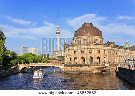 Bode Museum on museum island