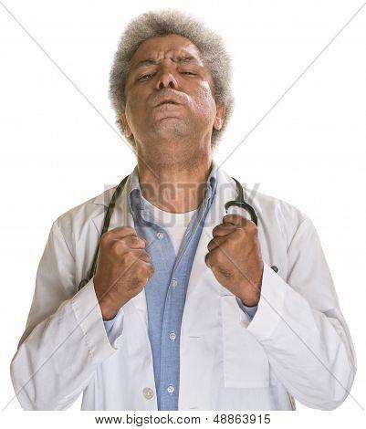 Tense Doctor