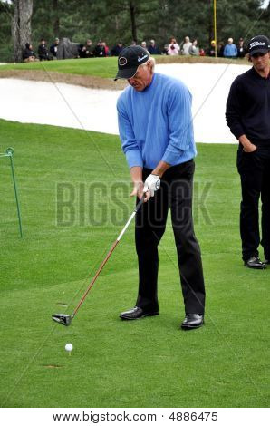 Greg Norman At 2009 Masters