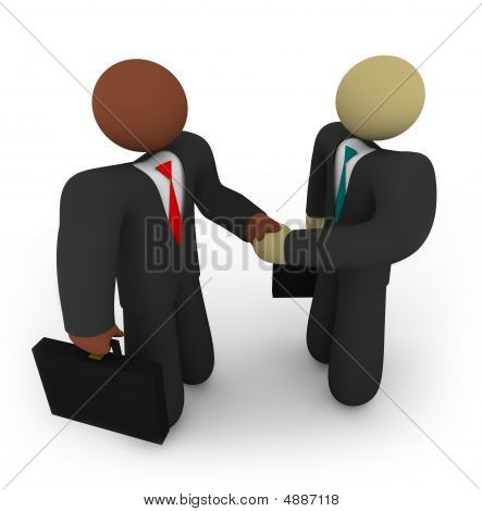 Business Deal - Racial Diversity