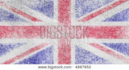 Union Jack On Wall