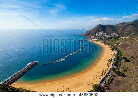 San Andres Village And Las Teresitas Beach