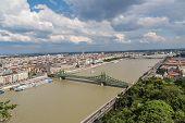 Постер, плакат: Мост свободы в Будапеште
