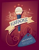 stock photo of club party  - Karaoke night club - JPG