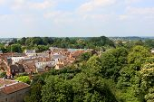 View from the Warwick castle