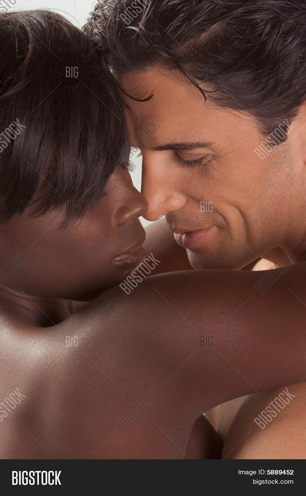 naked black men with white women